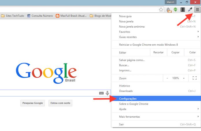 como sair da conta do google