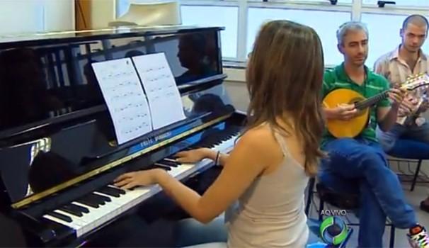 Paraná TV Oficina de Música de Curitiba  (Foto: Reprodução/RPC TV)