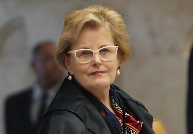 A ministra do Supremo Tribunal Federal (STF), Rosa Weber , durante sessão (Foto: Rosinei Coutinho/SCO/STF)