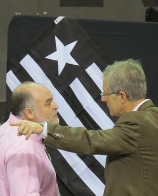 Maurício Assumpção e Carlos Eduardo Pereira Botafogo (Foto: Thiago Pinheiro )