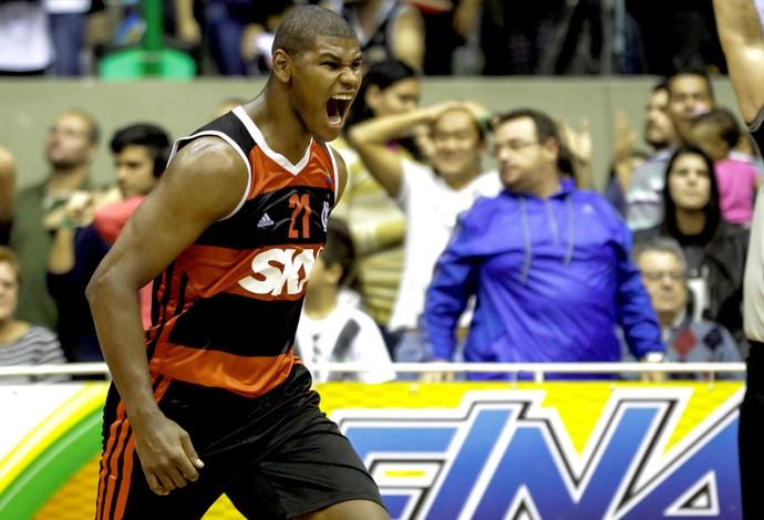 Mogi e Flamengo basquete NBB (Foto: Luiz Pires / LNB)