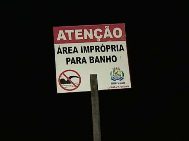 Afogamento em Guarapari, no ES. (Foto: Reprodução/TV Gazeta)