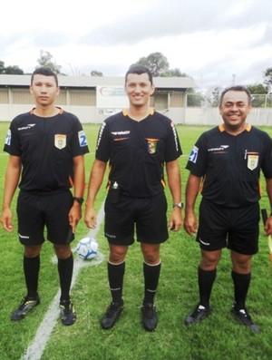 Árbitro da Federação Roraimense de Futebol (FRF) (Foto: Ribamar Rocha)