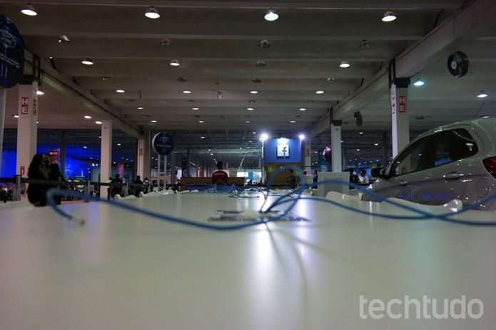 Oitava edição da Campus Party chega ao fim na São Paulo Expo (Foto: Melissa Cruz/TechTudo)