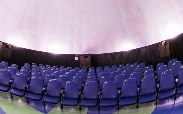 Cúpula tem formato especial para melhorar a experiência do visitante (Foto: Divulgação)