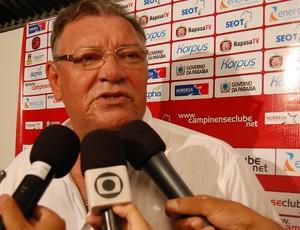 Freitas Nascimento, técnico do Campinense (Foto: Larissa Keren)