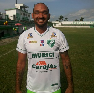 Fábio Santos, atacante do Murici (Foto: Divulgação Murici)
