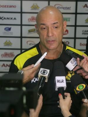 Márcio Correa, preparador físico do Criciúma (Foto: Fernando Ribeiro / Criciúma EC)