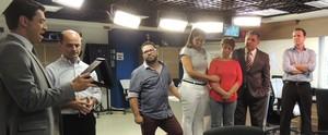 Mário Motta completa 30 anos à frente do JA (RBS TV/Divulgação)