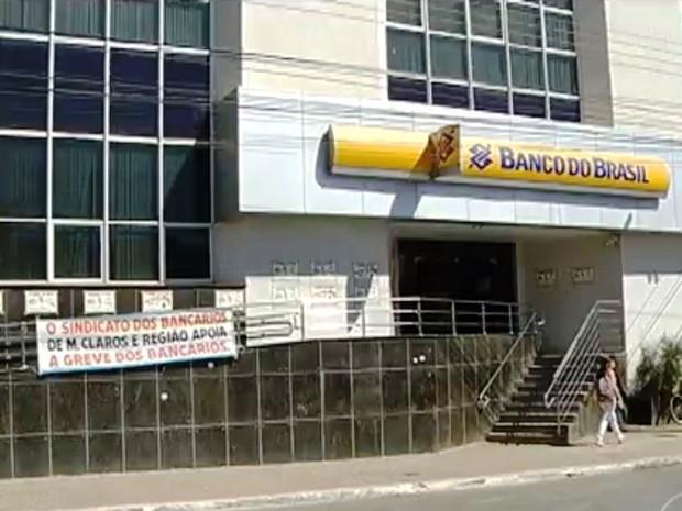 Greve dos bancos completa quatro semanas (Foto: Inter TV/Reprodução)