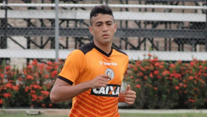 Everton, atacante do ASA (Foto: Leonardo Freire/GloboEsporte.com)