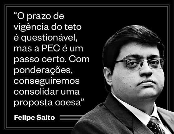 """Felipe Salto: """"O prazo de vigência do teto é questionável, mas a PEC é um passo certo. Com ponderações, conseguiremos consolidar uma proposta coesa"""" (Foto: Regis Filho/Valor/Ag O Globo)"""