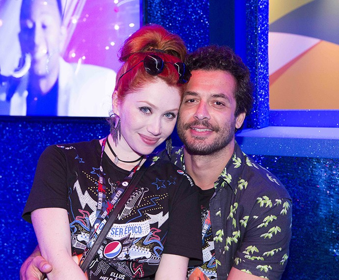 Gaby Petri curte com o namorado, João Sabiá (Foto: Felipe Monteiro/Gshow)