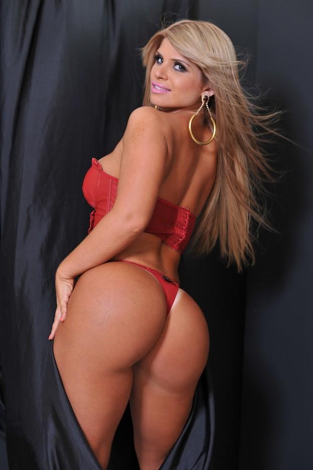Carine Felizardo, Miss Bumbum Brasil (Foto: CO Assessoria/Divulgação)