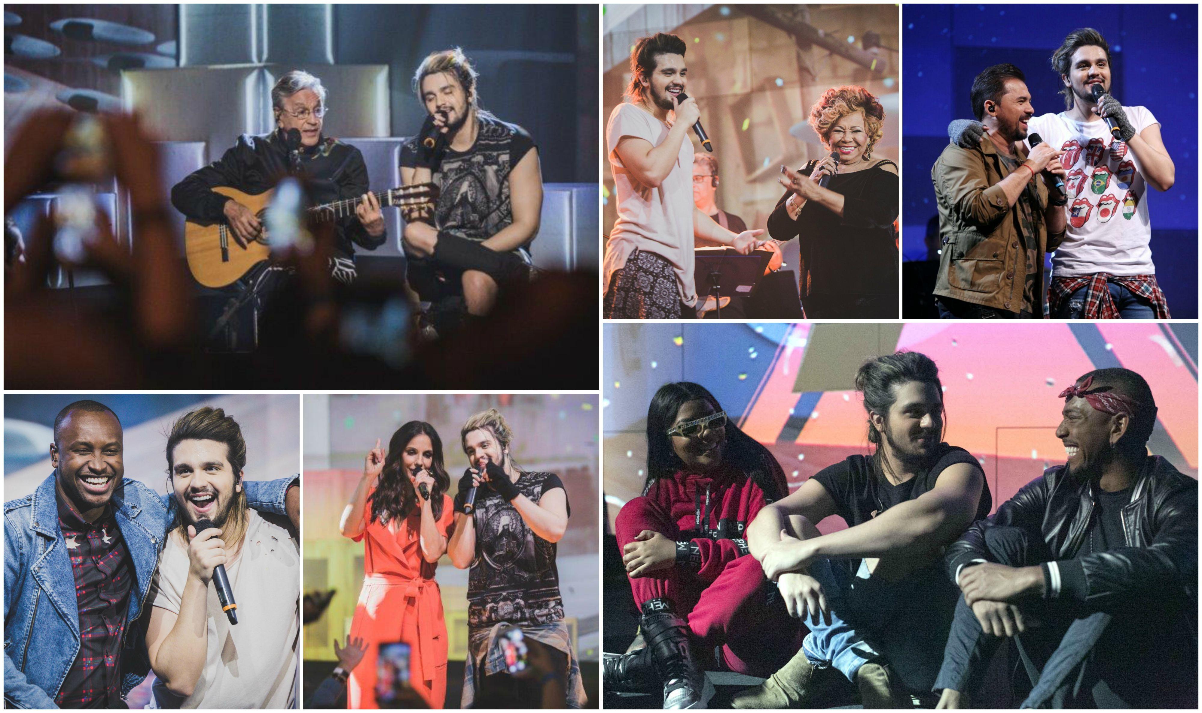 Luan Santana cantou de tudo e reuniu grandes nomes da msica brasileira na temporada de 'Canta, Luan' (Foto: Alice Venturi, Fabiano Leone e Daniel Seda)