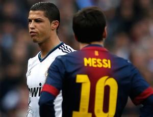 cristiano ronaldo real madrid lionel messi Barcelona (Foto: Agência Reuters)