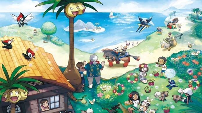 Como capturar Pokémon Shiny em Pokémon Sun e Moon (Foto: Divulgação/Nintendo)