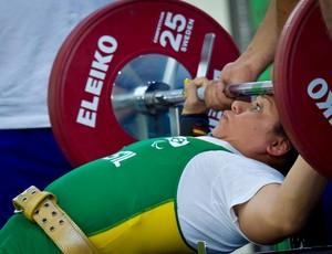Maria Luzineide dos Santos, halterofilista da Paraíba (Foto: Divulgação)