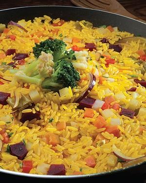 Paella vegetariana (Foto: Divulgação)