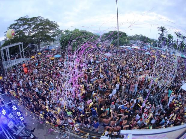 Bloco de música eletrônica atraiu 70 mil pessoas em Florianópolis (Foto: Carol Cruz/Divulgação)