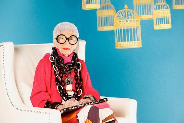 Iris Apfel lança sua primeira coleção de móveis (Foto: Divulgação)