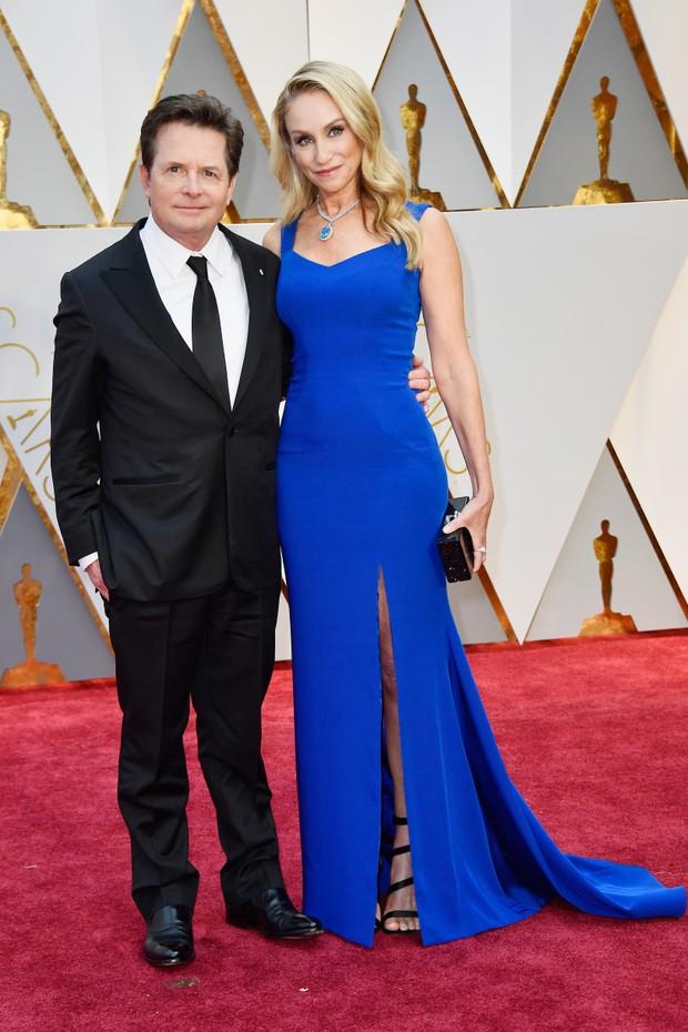 Michael J. Fox e Tracy Pollan (Foto: AFP)