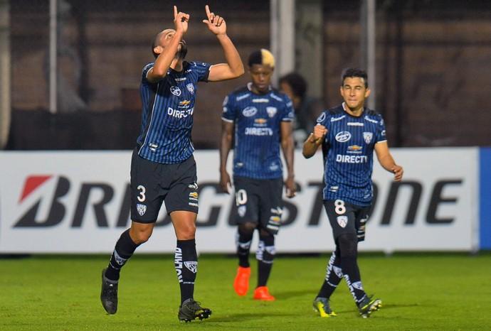 Segovia gol Independiente del Valle Olimpia (Foto: Juan Cevallos/AFP)