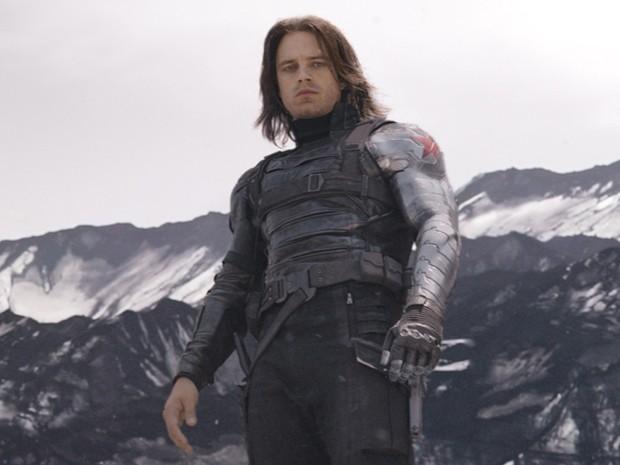 Soldado Invernal ganha mais importância a cada novo filme da Marvel, e não é diferente em 'Guerra Civil' (Foto: Divulgação/Marvel)