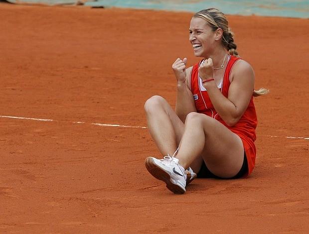 Dominika Cibulkova tênis Roland Garros oitavas (Foto: Reuters)