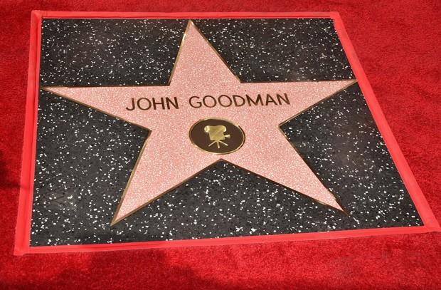 Estrela de John Goodman na Calçada da Fama  (Foto: Alberto E. Rodriguez/Getty Images)
