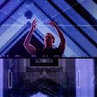 Calvin Harris faz pular com truque de DJ e efeitos (Marcelo Brandt/G1)