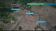 Modal ainda tem 23% de obras pela frente (Reprodução / TV Globo)