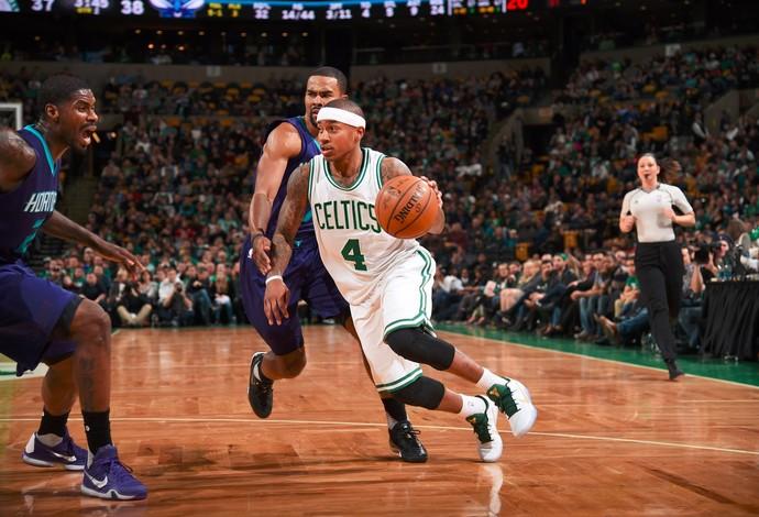 Isaiah Thomas Boston Celtics x Charlotte Hornets (Foto: Divulgação/NBA)