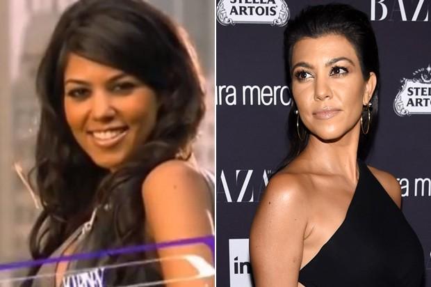 Kourtney Kardashian (Foto: Reprodução/afp)