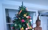 Ana Maria manda mensagem de Natal e mostra decoração de sua casa em São Paulo