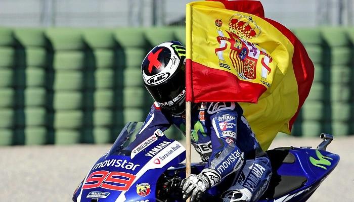 Jorge Lorenzo campeão MotoGP