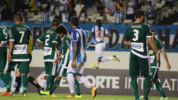 Celsinho comemorando gol pelo Paysandu (Foto: Fernando Torres/Ascom Paysandu)