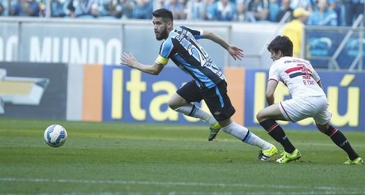EM JEJUM (Lucas Uebel/Grêmio FBPA)