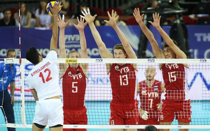 Russia x Irã Liga Mundial fase final (Foto: Divulgação/FIVB)