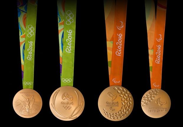 Medalhas Rio2016 (Foto: Divulgação)