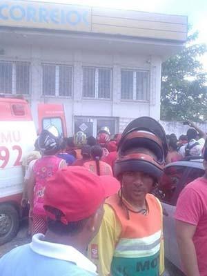 Tentativa de assalto termina com a morte do bandido, em Peritoró (MA) (Foto: Divulgação/ Hidalgo Neto)