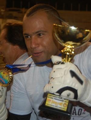 Genivaldo é eleito o melhor jogador da final do Campeonato Paraibano (Foto: João Brandão Neto / GloboEsporte.com/pb)