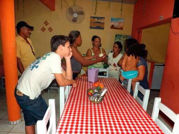 Ovo virou atração na comunidade de Soledade e chama a atenção de muitos curiosos  (Foto: Cassinho Morais/G1)