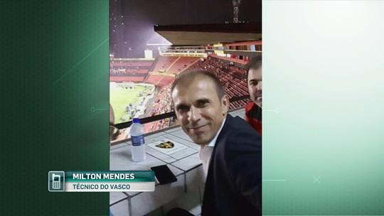 Milton Mendes viaja para ver Sport x Grêmio e diz que irá ao Maraca na 4ª