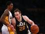 Raulzinho e Huertas são discretos, e Utah vence Lakers em Los Angeles