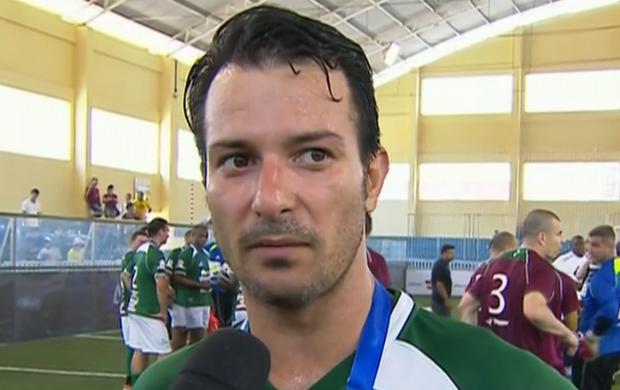 Thiago Gentil; Palmeiras; Showbol (Foto: Reprodução SporTV)