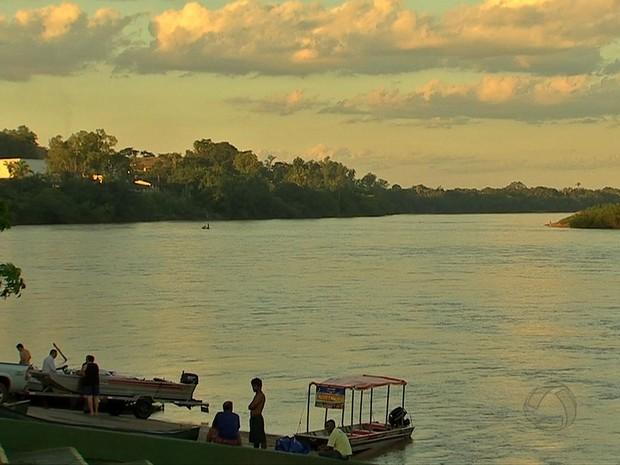 Rios atraem visitantes, tanto para banho quanto para a pesca (Foto: Reprodução/ TVCA)