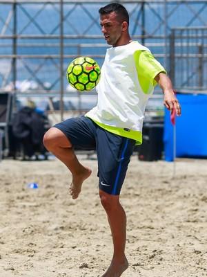 Bruno Xavier, defensor da seleção brasileira (Foto: MPC Rio)