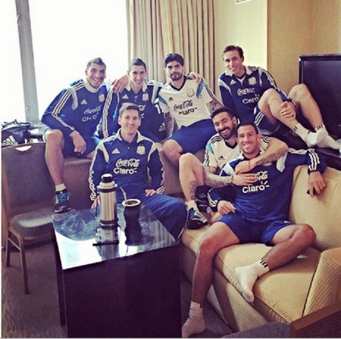 Argentina seleção mate