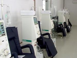 Centro de Nefrologia Bom Despacho MG hemodiálise (Foto: Reprodução/TV Integração)